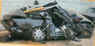 Машина Флекса Уилера после аварии