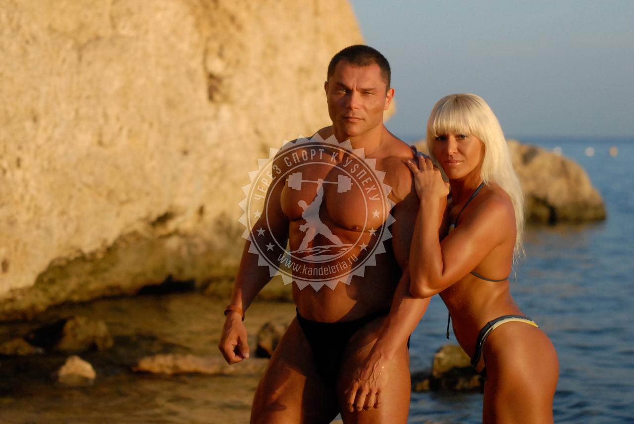 Михаил Кузьмин с женой