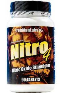 IronMagLabs NITRO4™ - NO2 Enhancement Formula