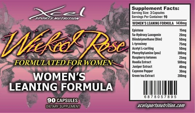Wicked Rose Leaning Formula