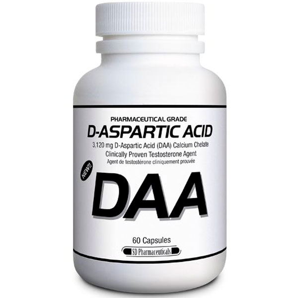 SD Pharmaceuticals D-ASPARTIC ACID DAA