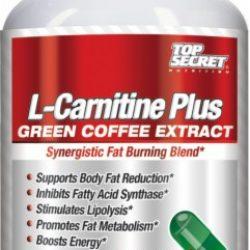 Top Secret Nutrition L-Carnitine Plus Green Coffee