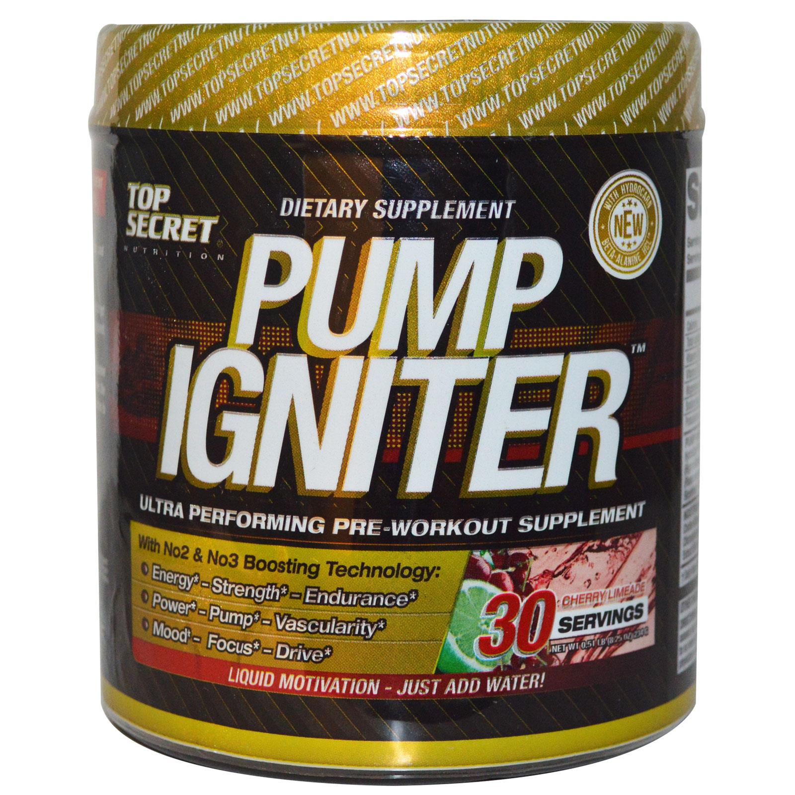 TOP SECRET NUTRITION PUMP IGNITER