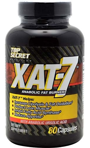 Top Secret Nutrition XAT-7 Fat Burner Extreme