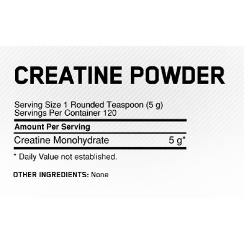 BETANCOURT CREATINE MICRONIZED 526G POWDER - состав