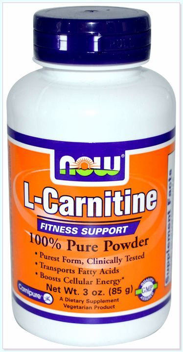 NOW Sport Nutrition L-Carnitine Pure Powder