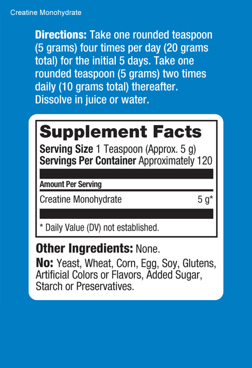 Prolab Creatine Monohydrate - состав