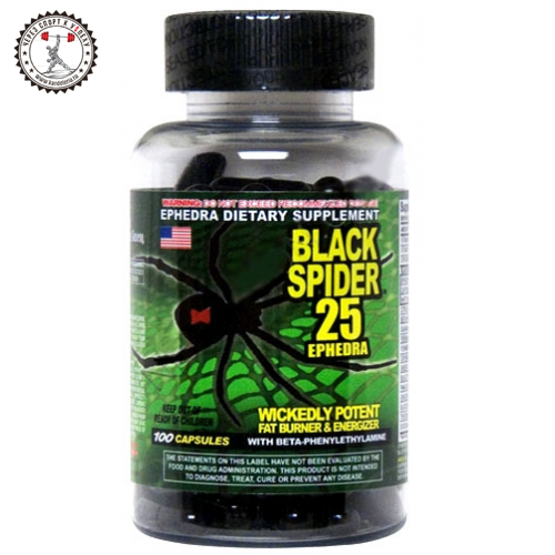Cloma Pharma Black Spider Ephedra