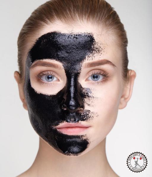 Чёрная маска от чёрных точек в домашних условиях