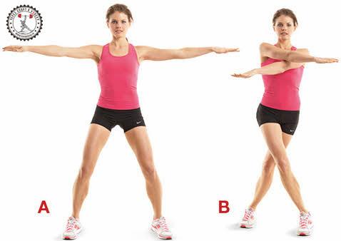 эффективные упражнение, чтобы убрать жир с рук