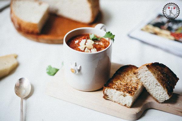 Томатный суп на закваске