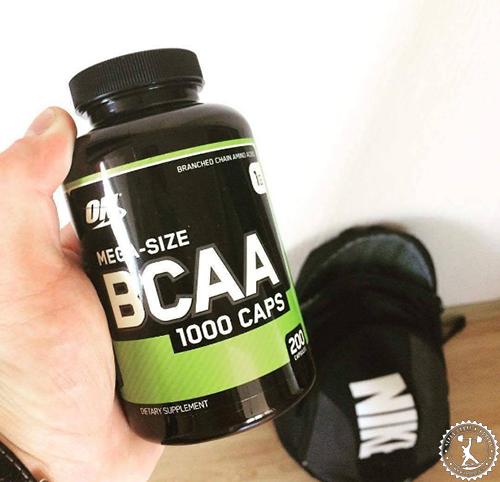 Отзывы о BCAA ON 1000 caps
