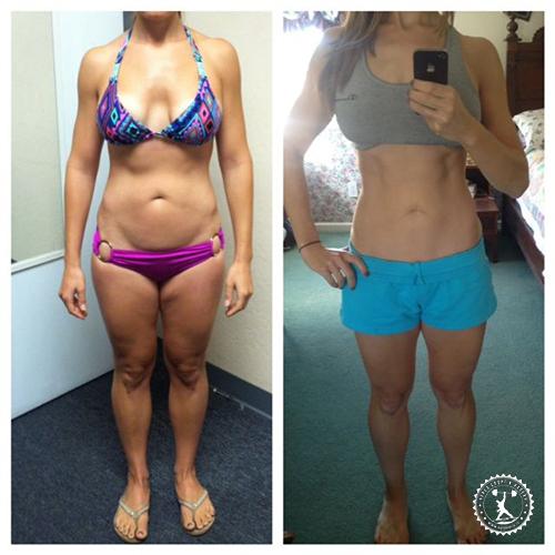Реальные фото похудения на 10 кг за 2 месяца!