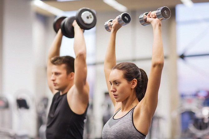 Отличие мужского тренинга от женского