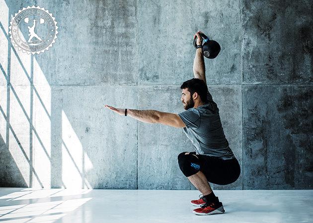 Лучшие упражнения с гирями на плечи руки и грудь